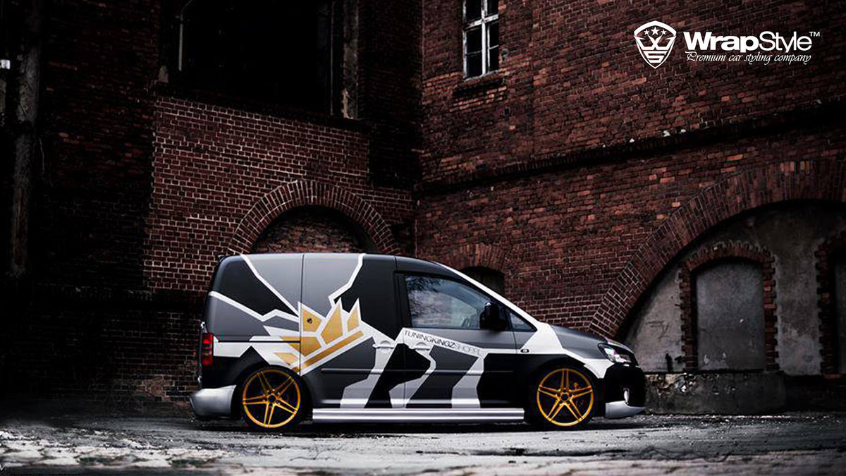 Volkswagen Caddy - Camo design - img 2