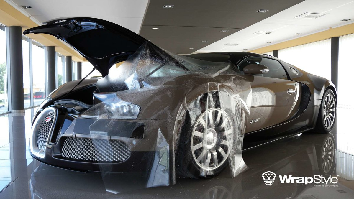 Bugatti Veyron - Paint Protection - cover