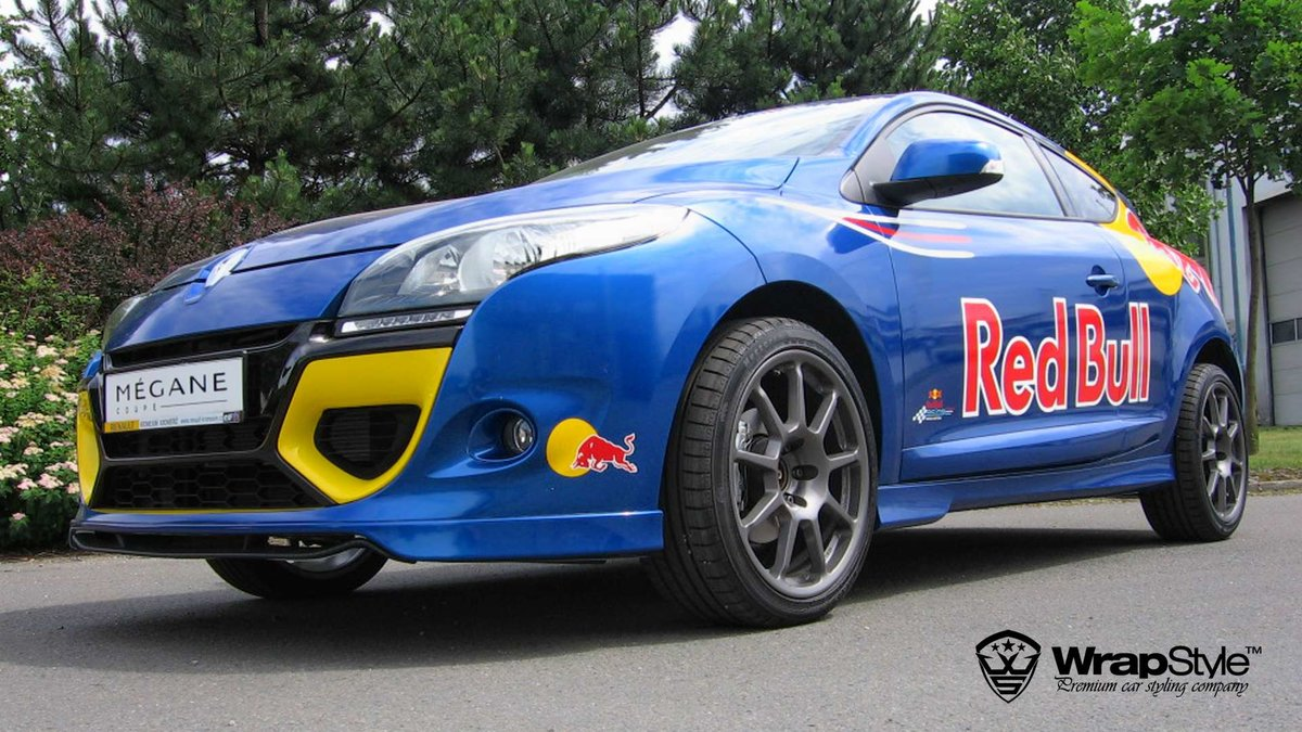 Renault Megane - Red Bull design - cover