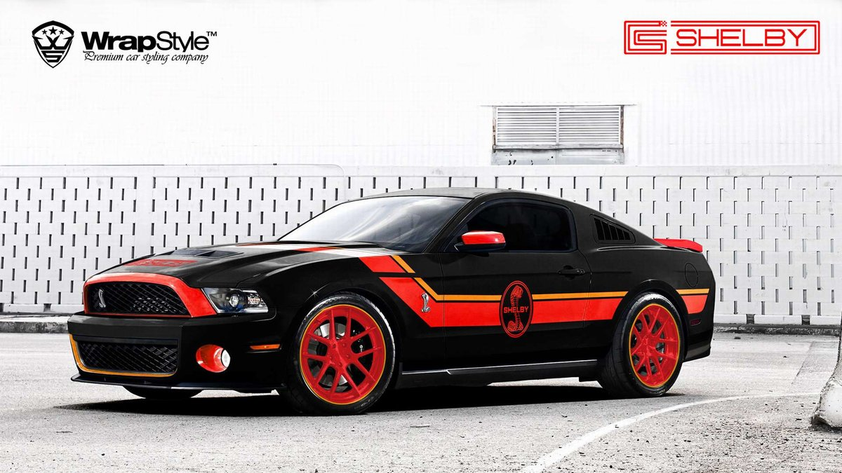 Ford Mustang Shelby - cover