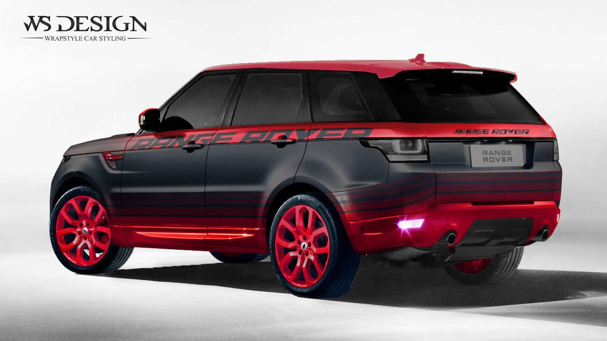 Range Rover - Red design - cover