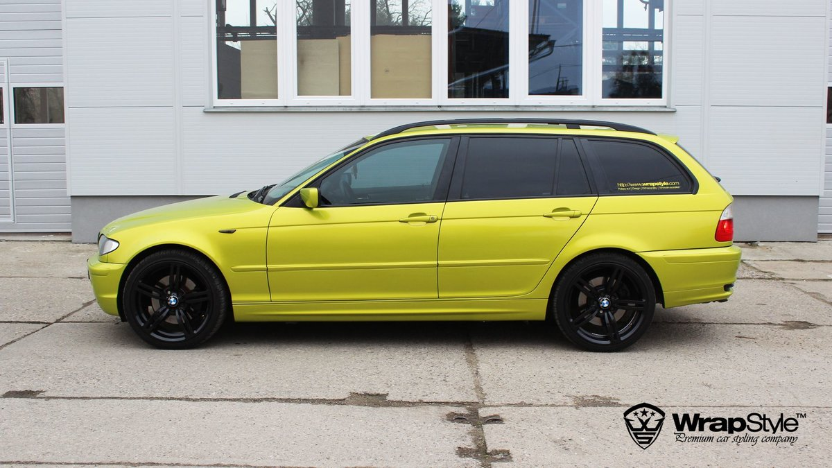 BMW 3 Lime green - cover