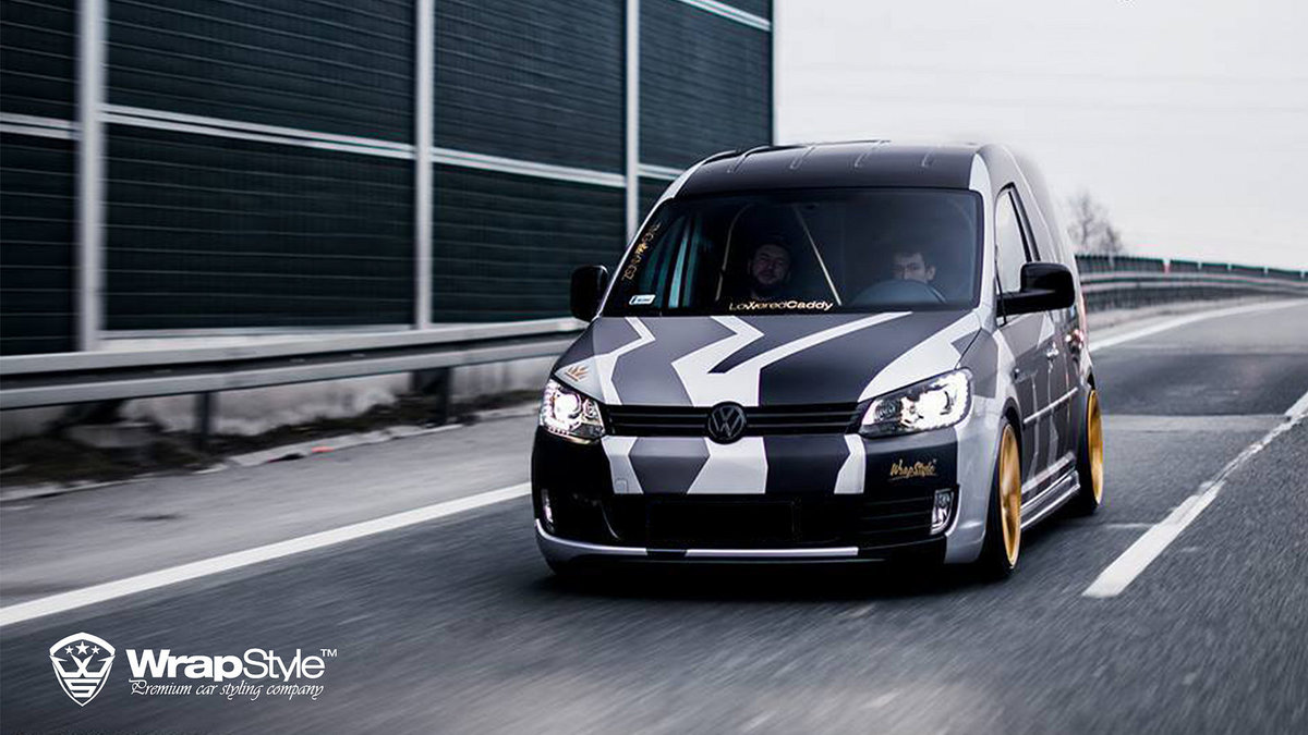 Volkswagen Caddy - Camo design - cover