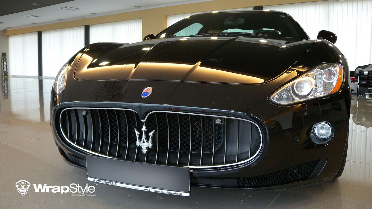 Maserati Paint Protection - cover