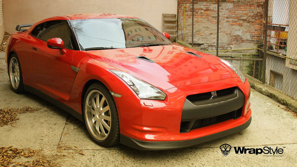 Nissan GTR - Stone Paint Protection - cover