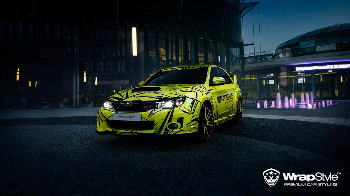 Subaru STI - WrapStyle design - cover