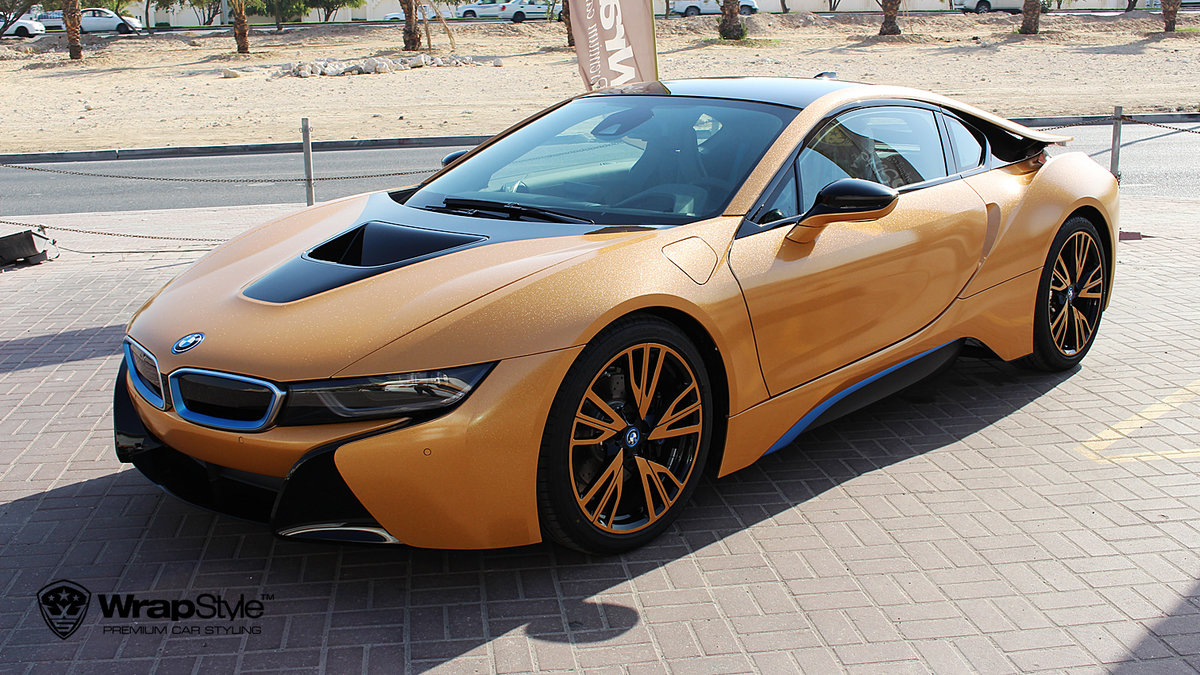 BMW i8 - Avery Diamond Amber - cover