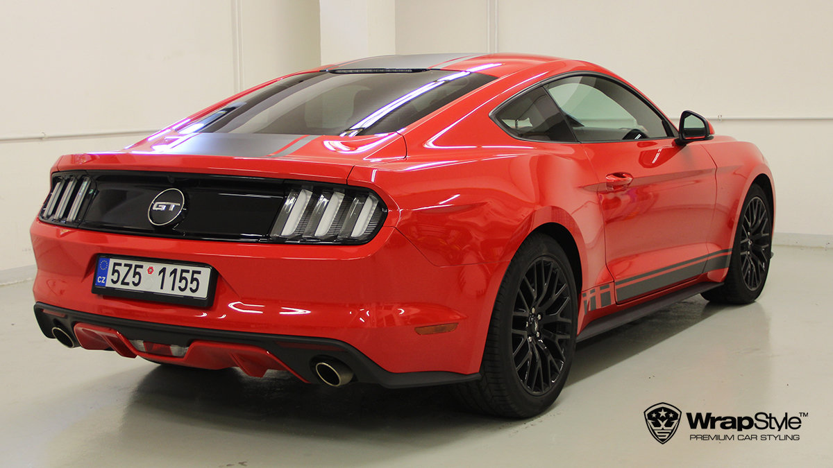 Ford Mustang - Design stripes - cover