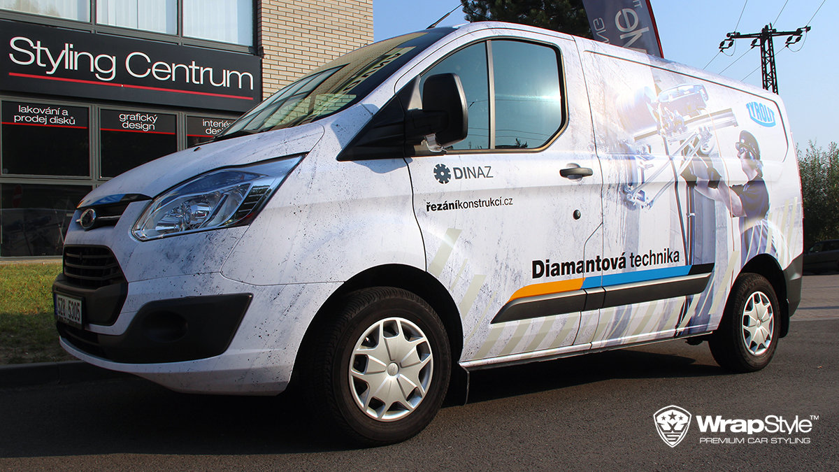 Ford Transit - Dinaz design - cover