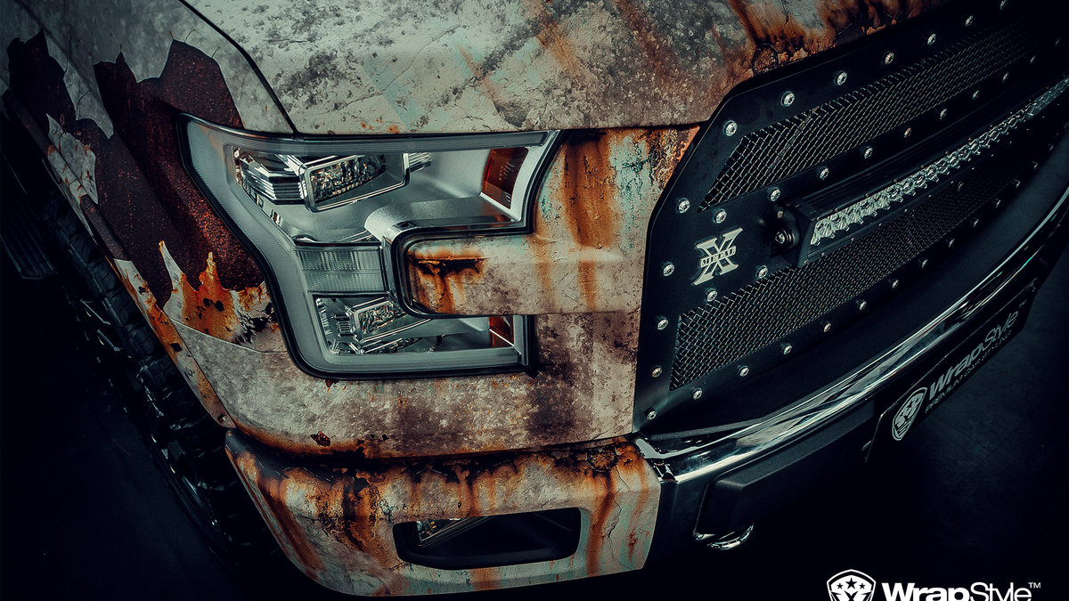 Ford 150 - Rusty design - cover