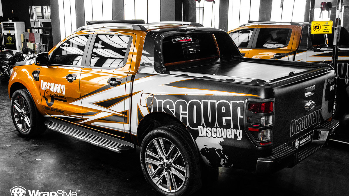Ford Ranger - Discovery design - cover