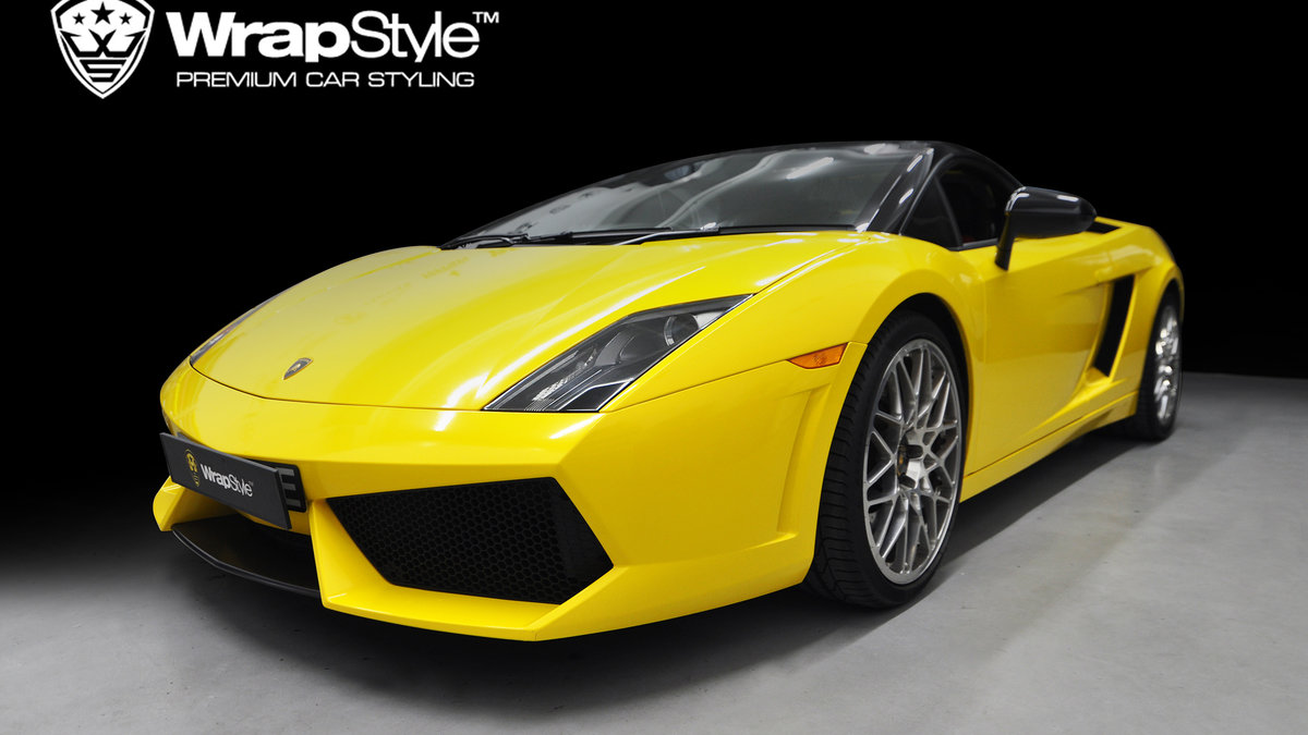 Lamborghini Gallardo - Gloss yellow - cover