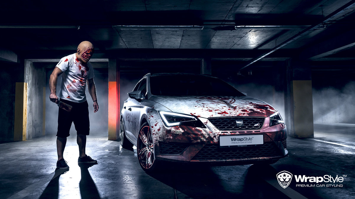 Seat Leon - Bloody design - cover
