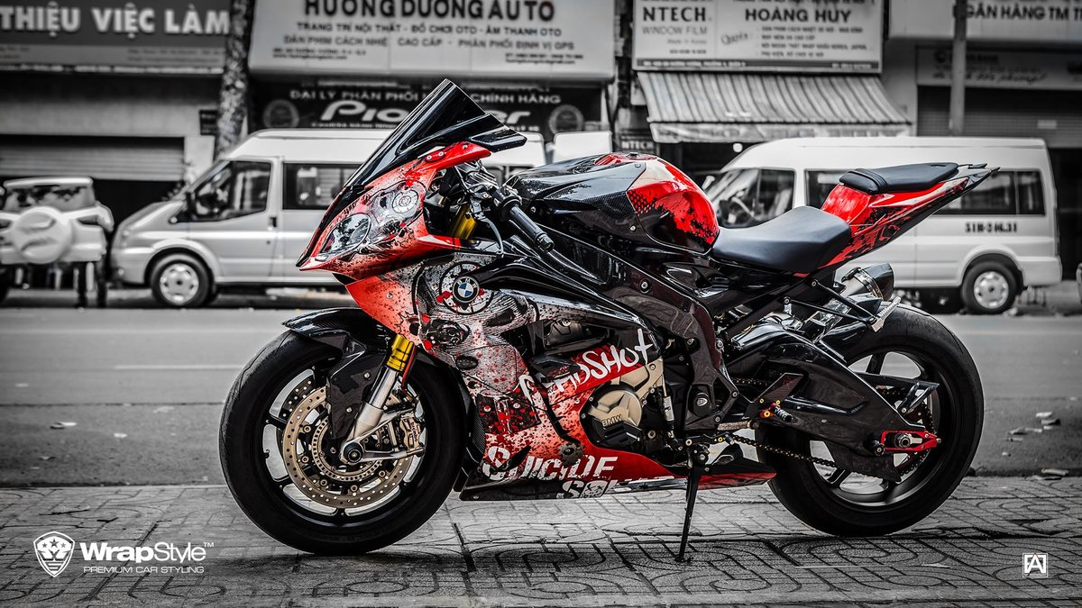 BMW  S1000 RR - Dead Shot design - cover