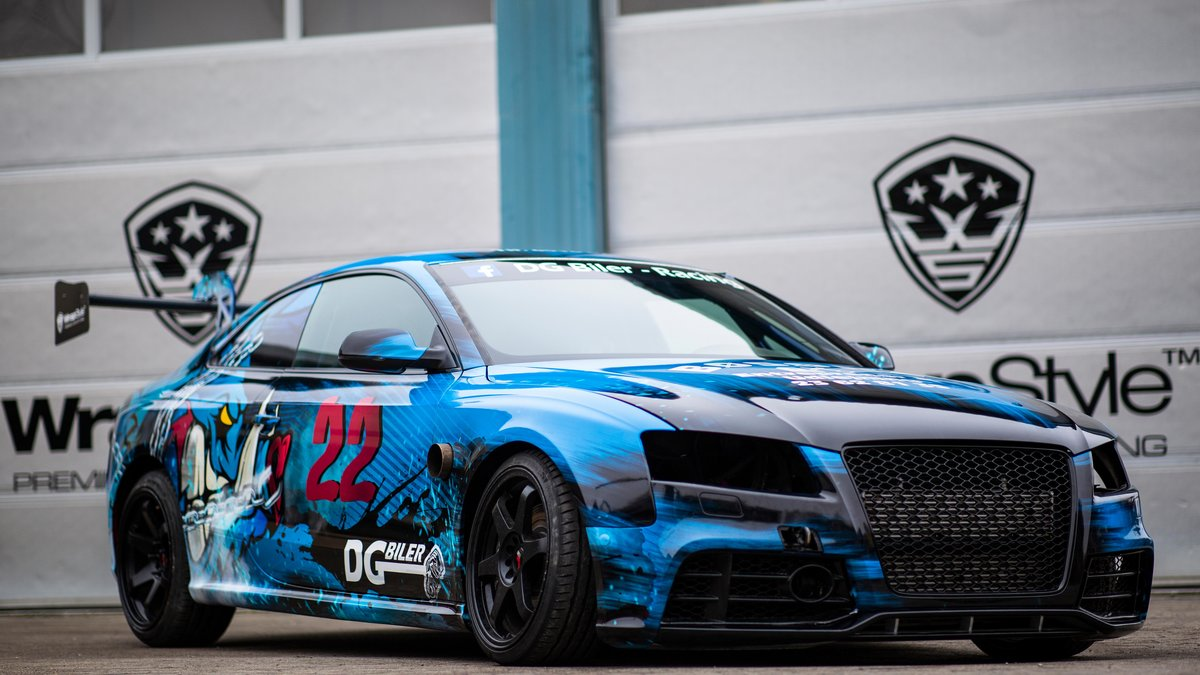 Audi RS5 - Drift Series design - cover