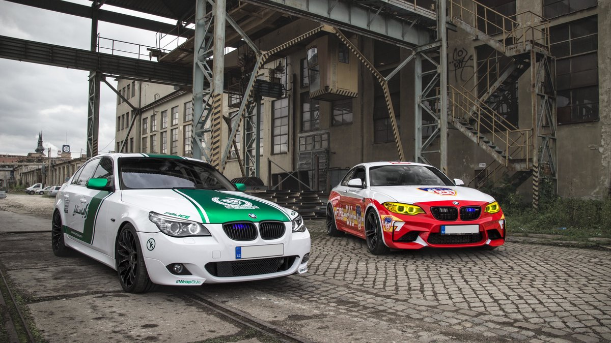 BMW M2 / BMW 535i - Dubai Police / New York Fire Department design - cover