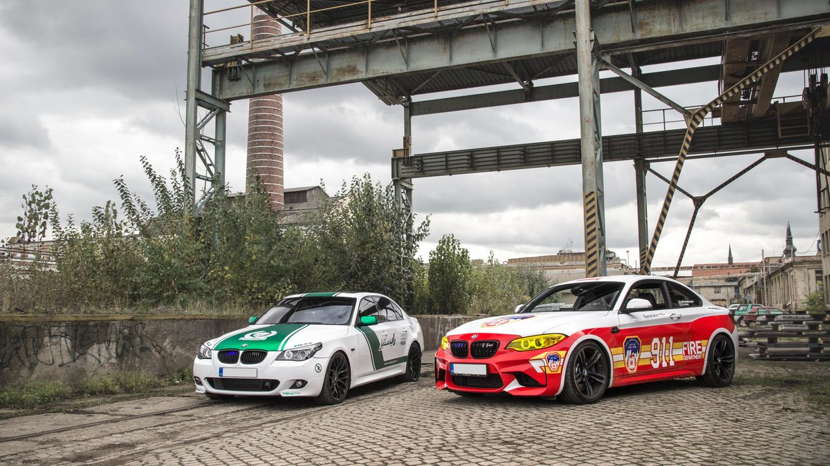 BMW M2 / BMW 535i - Dubai Police / New York Fire Department design - img 3