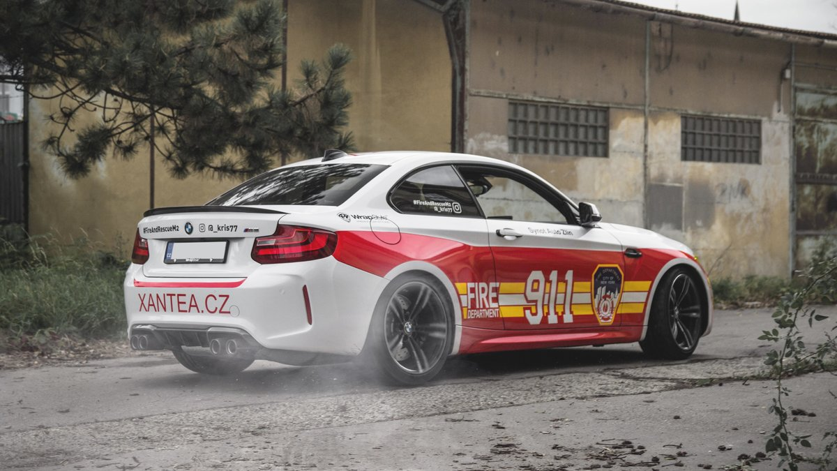 BMW M2 / BMW 535i - Dubai Police / New York Fire Department design - img 5
