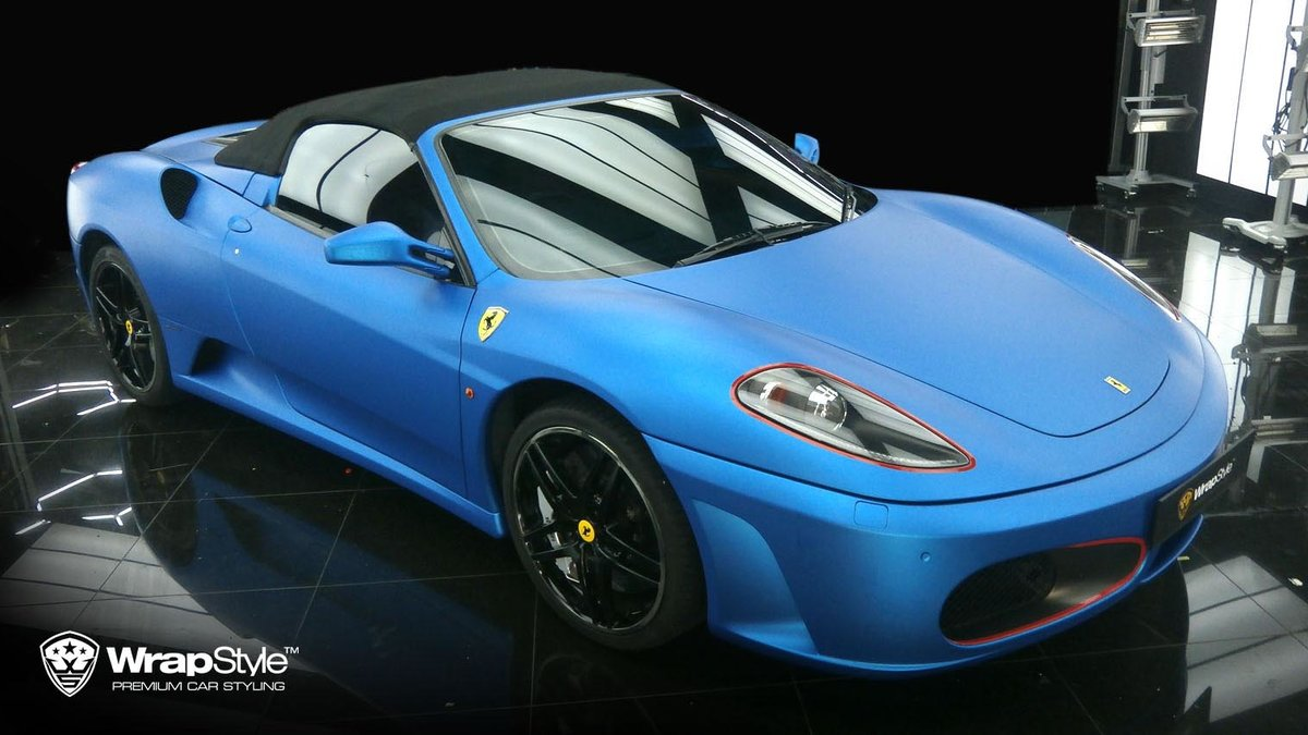 Ferrari F430 - Blue Matt Metalic wrap - img 2