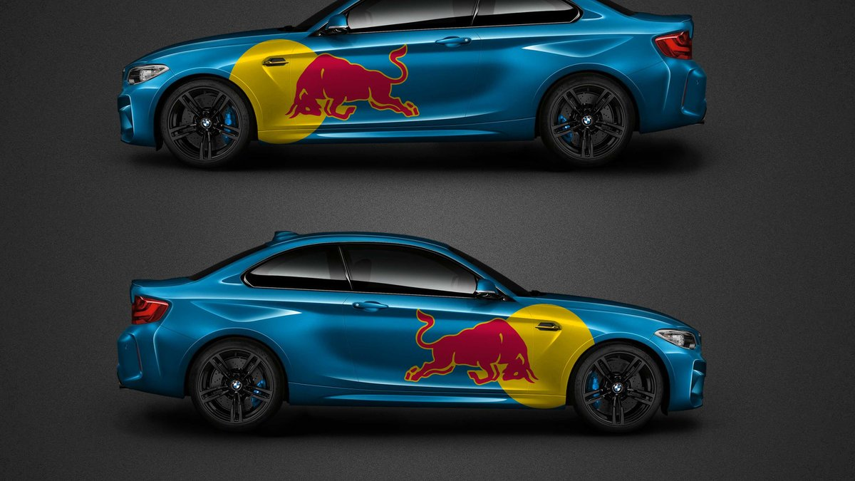 BMW M2 - Redbull design - cover