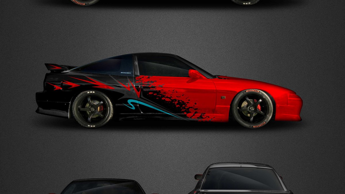 Nissan 200SX - Skyline Dragon - cover