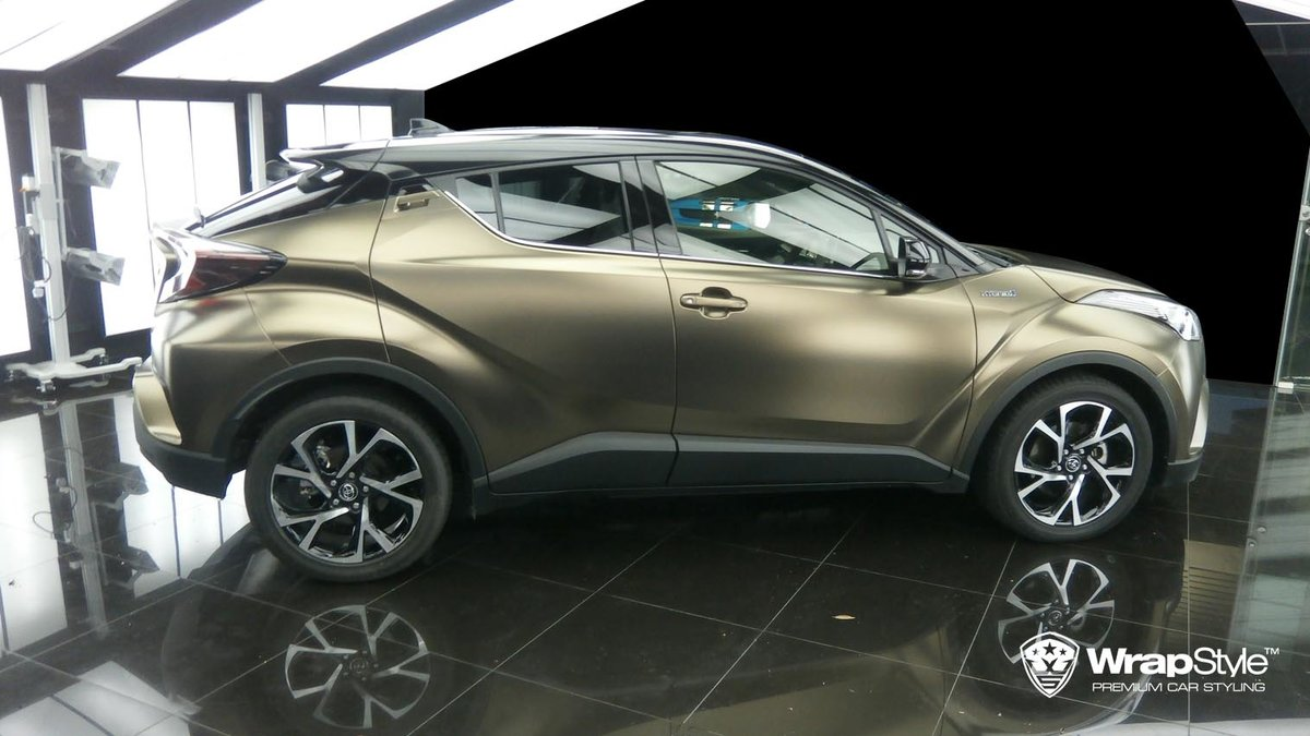 Toyota C-HR - Pearl Metal Coffee wrap - cover