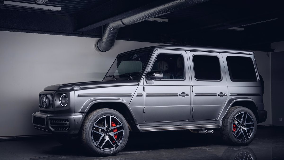 Mercedes G63 - Matte Paint Protection OpticShield - cover