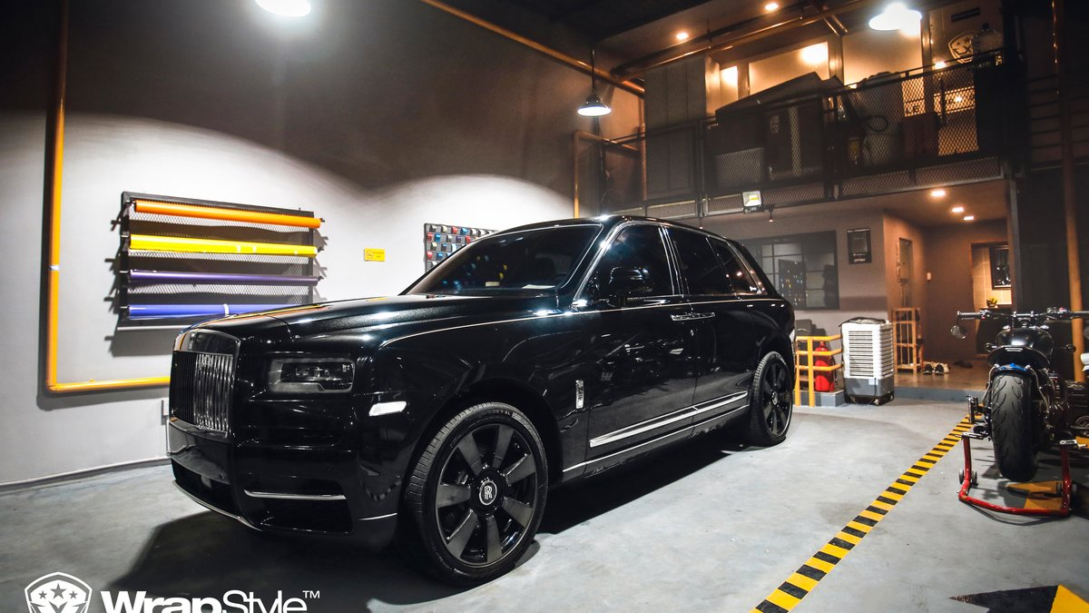 Rolls Royce Cullinan - Paint Protection OpticShield - cover
