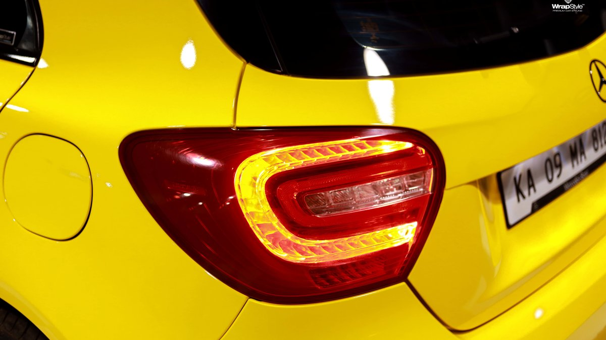 Mercedes A180 - Yellow wrap - img 3
