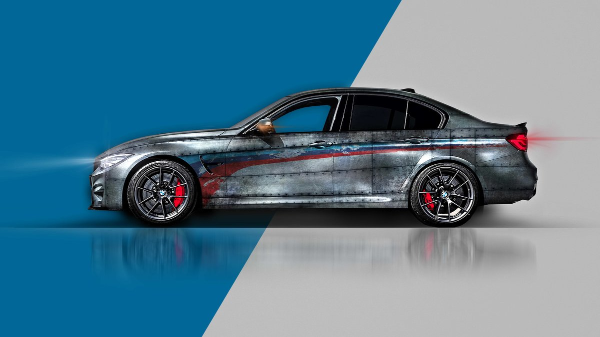 BMW M3 - Old Steel design - cover