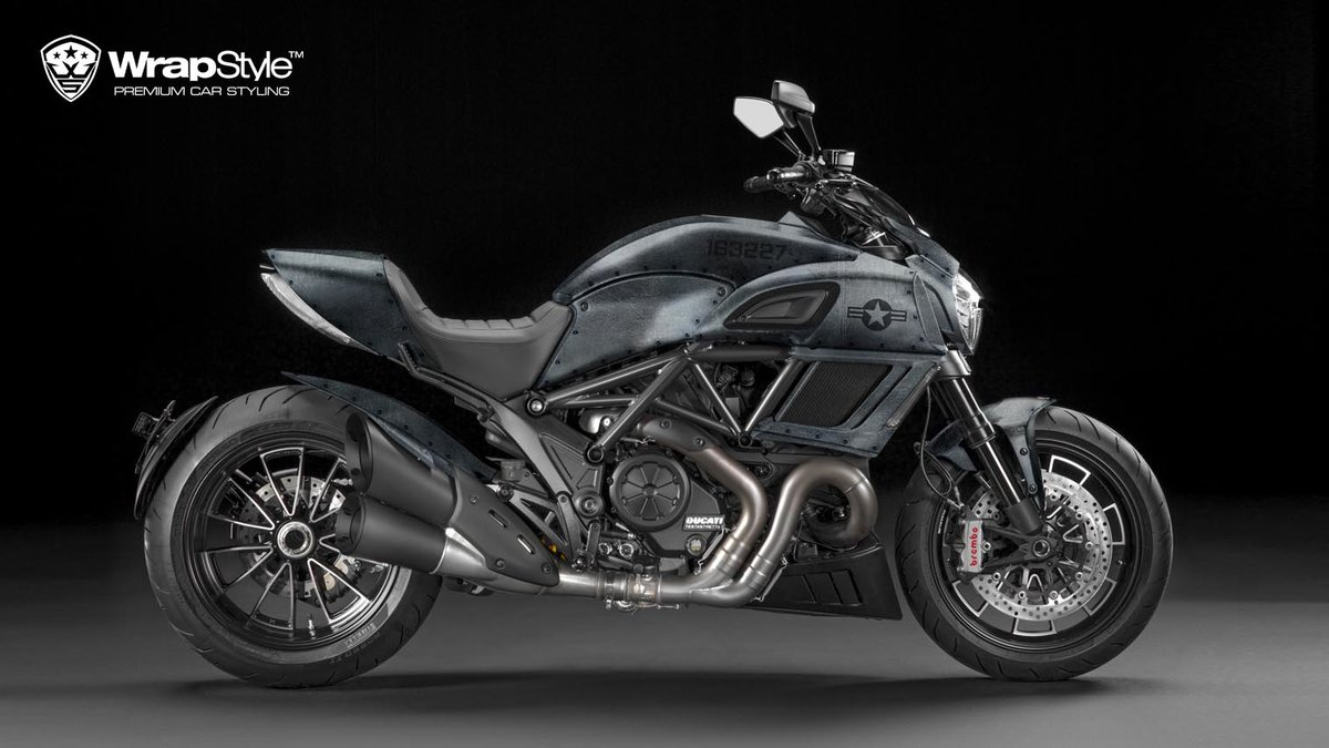 Ducati Diavel - Jet design - cover