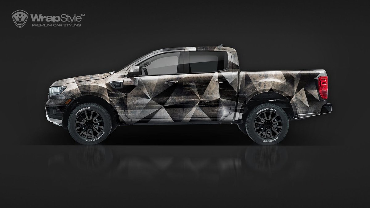 Ford Ranger - Triangle design - cover