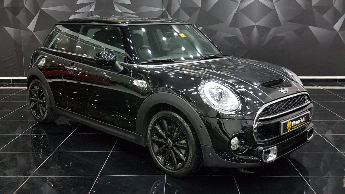 Mini Cooper - Black Gloss wrap - cover