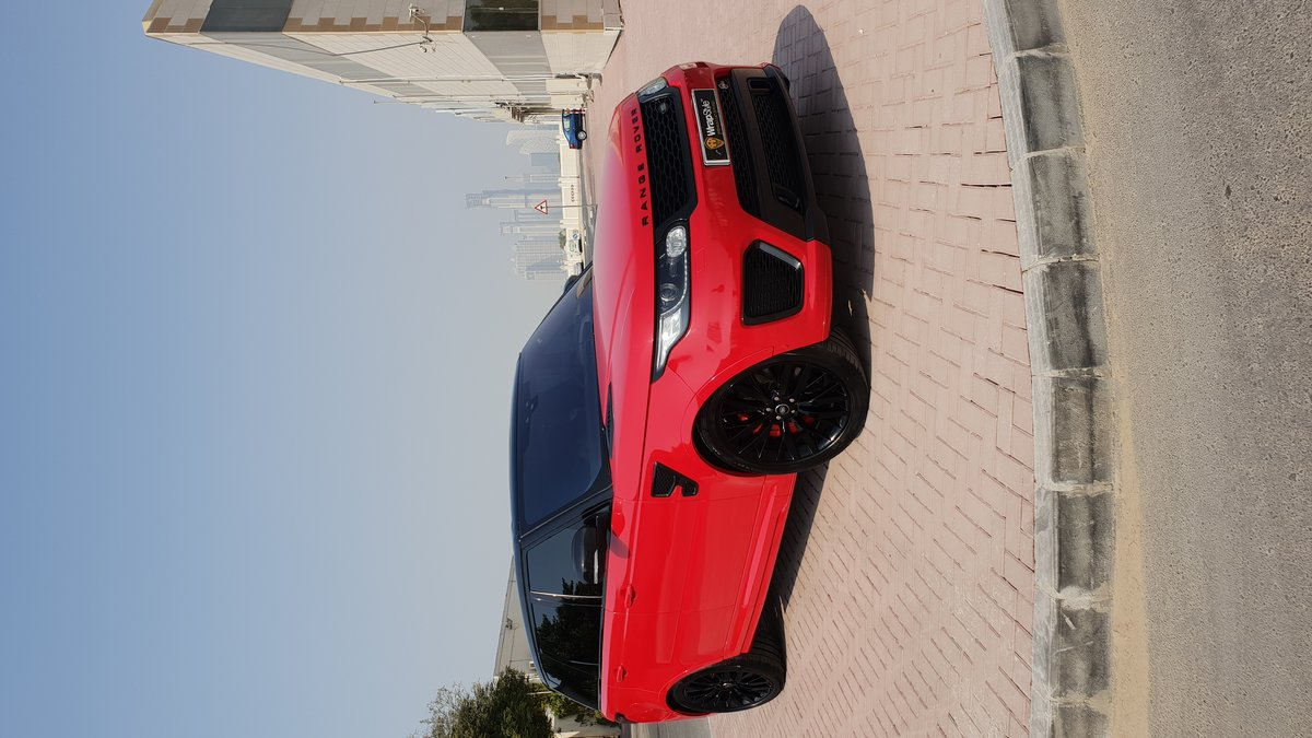 Range Rover Sport - Red Gloss wrap - img 2