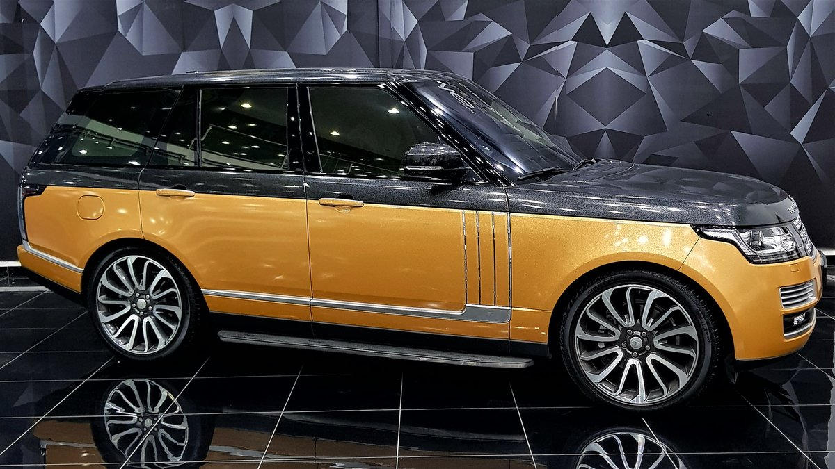 Range Rover Vogue - Bronze Pearl wrap - cover