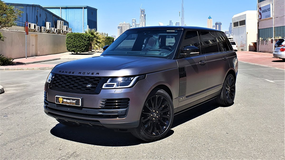 Range Rover Vogue - Grey Satin wrap - img 1