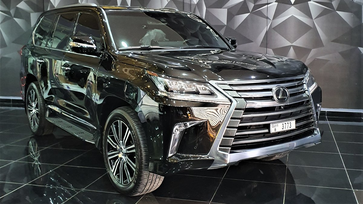 Lexus GX - Black Gloss wrap - cover