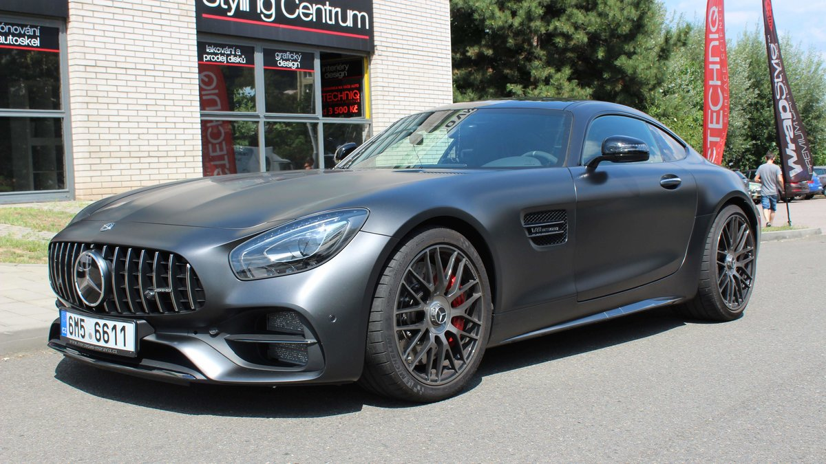 Mercedes GT 50 AMG - Paint Protection OpticShield - cover