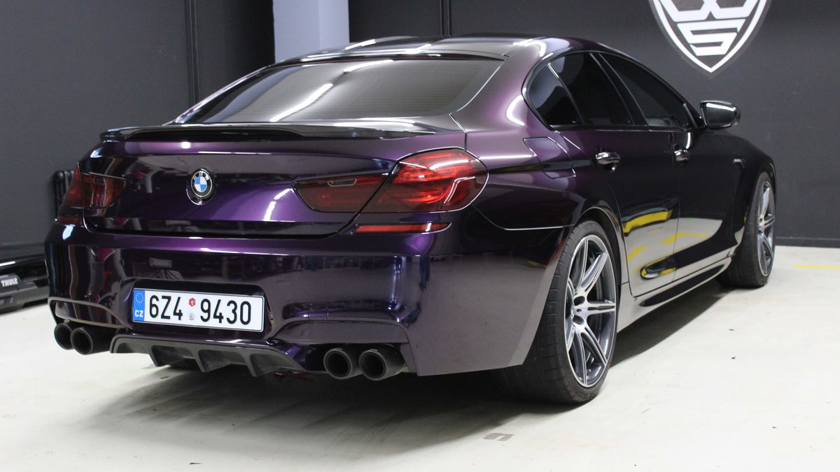 BMW M6 - Midnight Purple wrap - cover