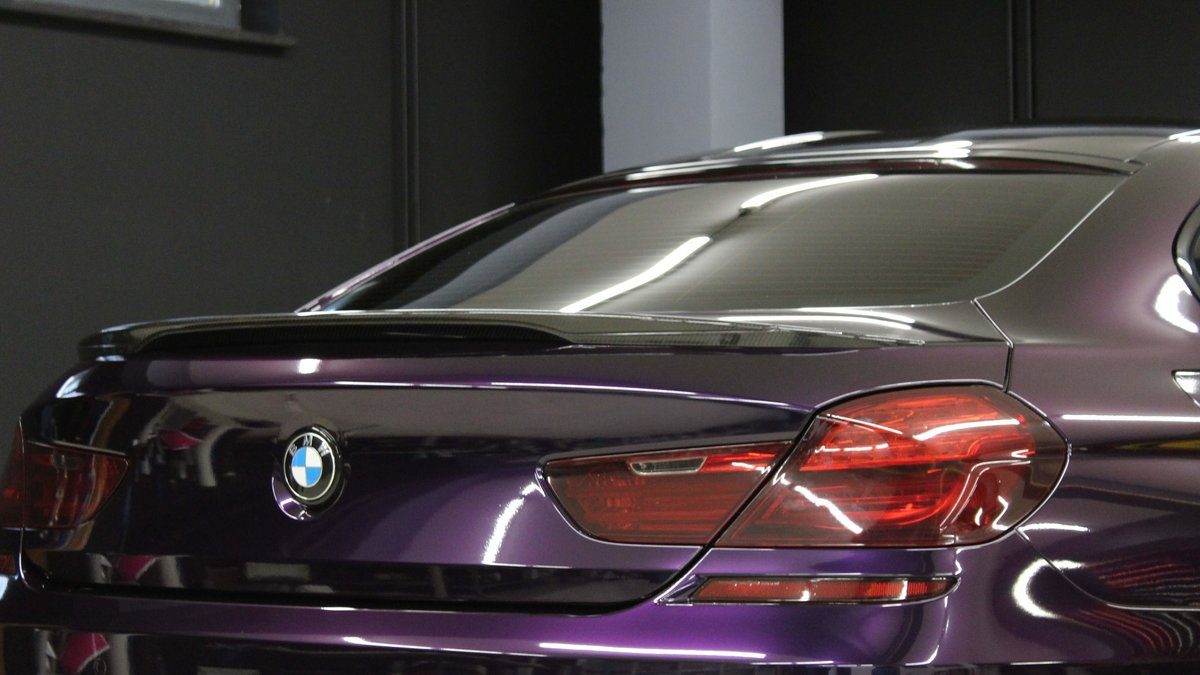BMW M6 - Midnight Purple wrap - img 3
