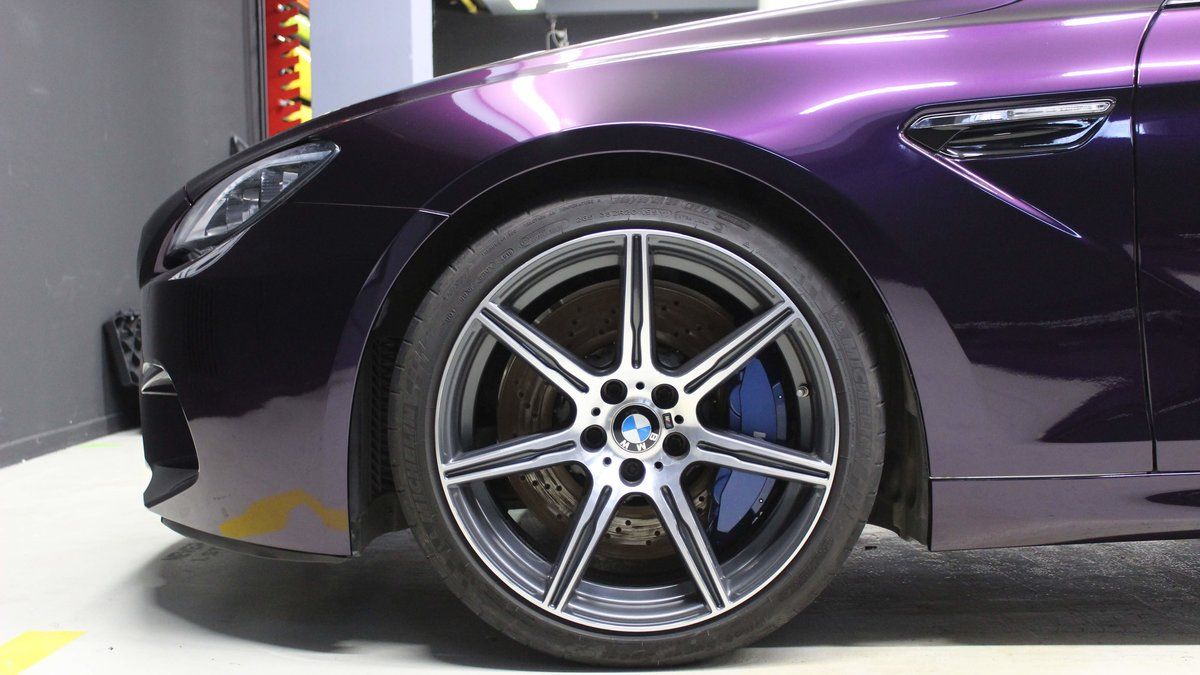 BMW M6 - Midnight Purple wrap - img 2