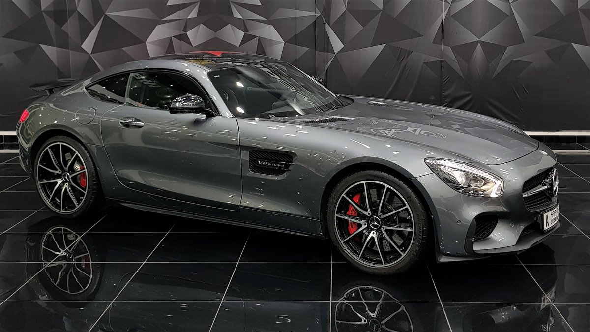 Mercedes AMG GT - Grey Gloss wrap - cover