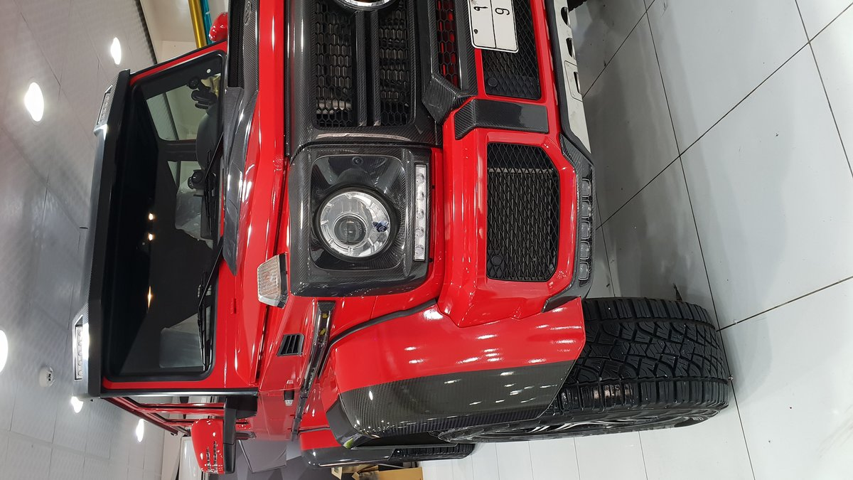 Mercedes G - Red Gloss wrap - img 1