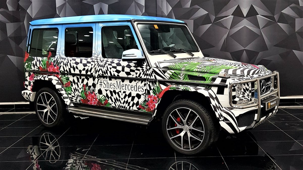Mercedes G - SheMercedes wrap - cover