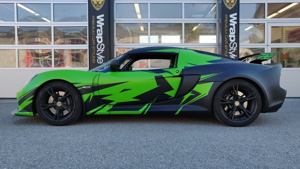 Lotus Exige - Green Gloss wrap - cover