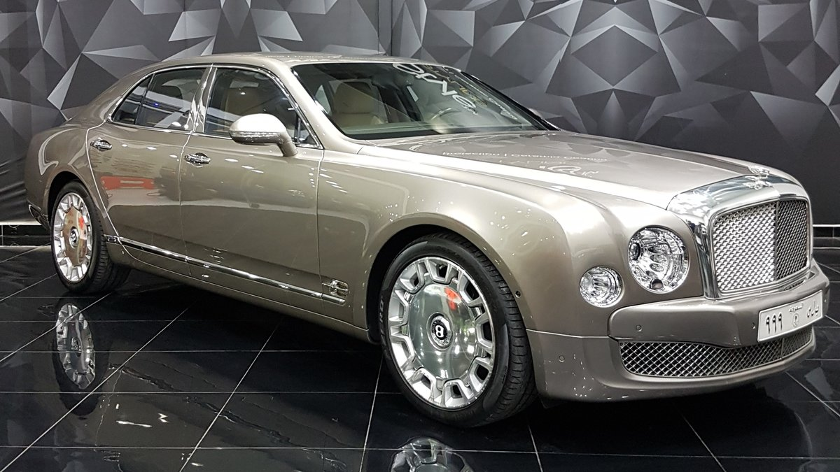 Bentley Mulsanne - Paint Protection - cover