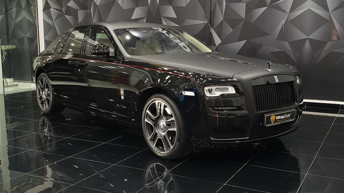 Rolls-Royce Ghost - Black Matt Stripe - cover