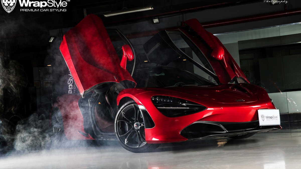 McLaren 720s - Paint Protection OpticShield - cover