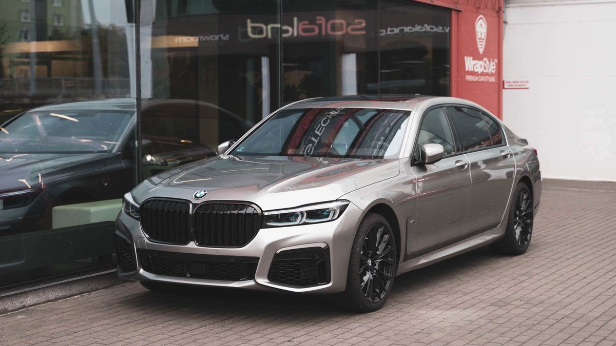BMW 760LI - Paint Protection OpticShield - cover