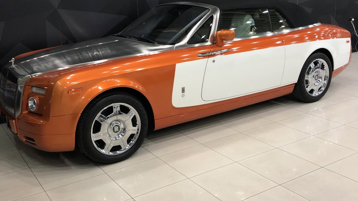 Rolls-Royce Dawn - Orange Stripe wrap - img 1